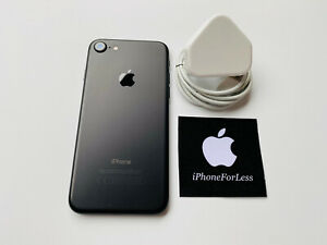 Apple iPhone 7 - 128GB - Black Matt - (Unlocked) - A1778