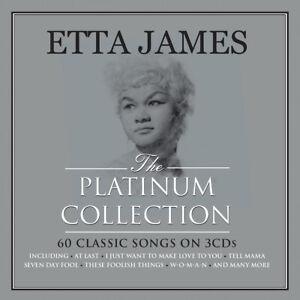 ETTA JAMES - THE PLATINUM COLLECTION - 3 CDS - NEW!!