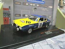 FORD Capri RS 2600 Rallye Rajd Polski 1972 #10 Röhrl Berger Kleint Raci IXO 1:43