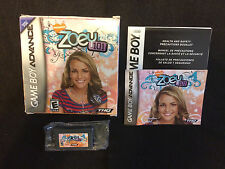 Zoey 101 (Nintendo GameBoy Advance/SP/DS) Complete In Box: Cleaned & Tested!!!