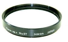 Nikon Nahlinse 5T  Durchm. 62mm