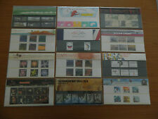 2004 YEAR SET OF 12 PRESENTATION PACKS ( Nos 355 to 365 + M10 )IN MINT CONDITION