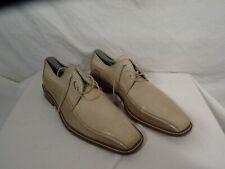 Mezlan Vero Cuoio Men's Two Tone Tan Leather Dress Shoe US 10M Made in Spain