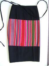 , Northern Laos Tai Dam hemp Indigo wrap skirt