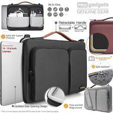 """TOMTOC 15.6"""" Protective Laptop Shoulder Bag"""