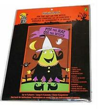 Jumbo Pin The Hat On The Witch Halloween Party Game/Kids Party Games/Spooky