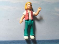 FISHER PRICE SWEET STREETS FIGURE REPLACEMENT MOM LADY W PEARL NECKLACE & VEST