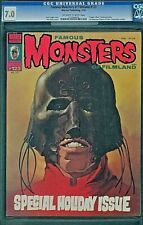 FAMOUS MONSTERS OF FILMLAND 123 CGC 7.0 SPECIAL HOLIDAY ISSUE KEN KELLY