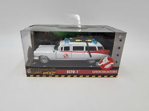 JADA - HOLLYWOOD RIDES - 1/:32 Diecast - GHOSTBUSTERS ECTO-1 #99748 ©2018 SEALED