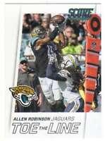 2016 Panini Score Football Toe the Line Insert #11 Allen Robinson Jaguars