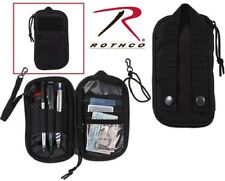 Black Molle Military Tactical Wallet Personal Effects Pouch Rothco 11660