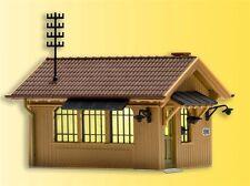 Kibri HO 49309 Maison de gardiens avec Lot de 2 LED d'éclairage intérieur jaune