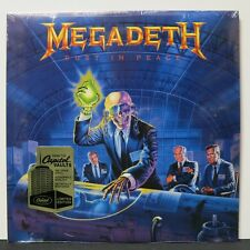 MEGADETH 'Rust In Peace' Audiophile 180g Vinyl LP NEW & SEALED