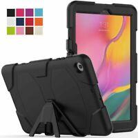 Étui pour Samsung Galaxy Tab A T510 T515 Hybrid Étui Coque Film Protection Sac