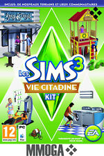 Les Sims 3 Vie Citadine Kit d'extension Town Life Stuff PC Origin Code - EU & FR