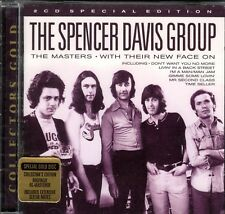 The MASTERS by The SPENCER DAVIS GROUP WITH THEIR NEW FACES ON - 2 GOLD CD SET