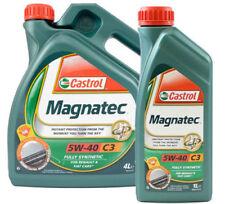 Castrol Magnatec 5W-40 C3 totalmente sintético de aceite del motor 4 X 1 Litro
