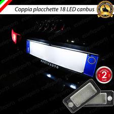 PLACCHETTE A LED LUCI TARGA 18 LED SPECIFICHE AUDI A6 C6 CF 4F NO ERROR 6000K
