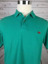 PERLIS Men's SS Green Polo Shirt Size Small