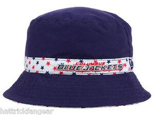 Columbus Blue Jackets New Era Reversible NHL Hockey Toddler Bucket Cap Hat