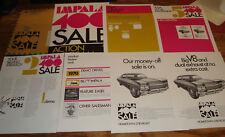 Original 1970 Chevrolet Impala 400 Sale Dealer Action Program Kit 70 Chevy