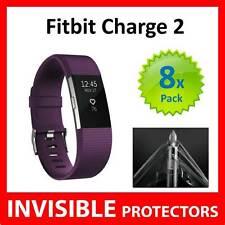 Fitbit Charge 2 HR protector de pantalla protege-Calidad de grado militar-Paquete de 8