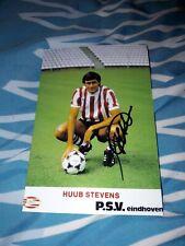 Signiertes Foto Huub Stevens PSV Eindhoven  NEU MEGA RAR