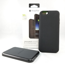 Mophie Juice Pack Wireless & Charging Base 50% Extra iPhone 6 6s PLUS -BLACK NEW
