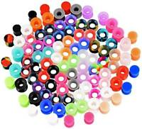 Wholesale Silicone Ear Gauge Kits Flexible Ear Tunnels Plugs Earlets 7-20Pairs