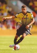 Watford: Etienne capoue firmata 6x4 FOTO D'AZIONE + COA