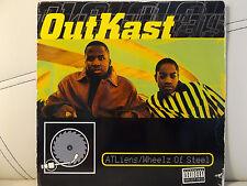 "OUTKAST - ATLIENS / WHEELZ OF STEEL (12"") 1996!!  RARE!!  ANDRE 3000 + BIG BOI!!"