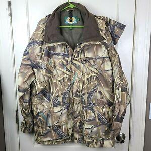 Cabela's Gore-tex Advantage Wetlands Camo Hunting Jacket Coat Men's Size: XL