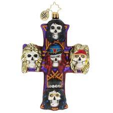Christopher Radko Guns-N-Roses Rockin' Christmas Glass Ornament 1020167