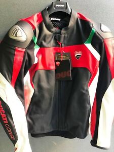 Giacca in pelle Ducati Corse 18 C3 - Leather Jacket Ducati Corse 9810373