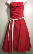 Ruby Rox Red Party Prom Formal Dress Junior Women's 7