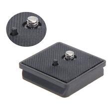Anti-Skid Quick Release QR Plate Mount Accessories Adapter Camera Tripod KL1