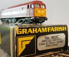 Graham Farish N Scale Class 47 Diesel EWS Livery 47744 Special Edition