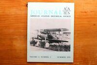Vtg. AAHS American Aviation Journal Airplane Magazine Vol 15  #2 Summer 1970
