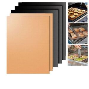 Reusable BBQ Grill Mat Bake Sheet Resistant Teflon Meat Barbecue Non-Stick Party