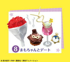 Re-ment Sailor Moon Sailormoon Crystal miniature Cafe Sweets Collection RARE #1