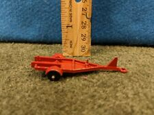 Midget Toy Rockford, IL USA Die Cast Trailer/Cart Orange METAL Vintage