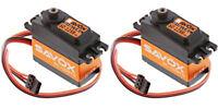 2 PACK Savox SC-1258TG Super Speed Titanium Gear Digital Servo