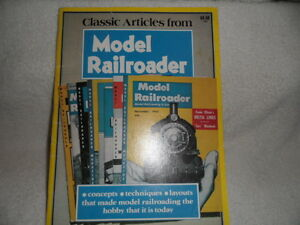 Classic Articlle's From Model Rail Roader magazine 1980 VGC