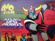 Film Ufo Robot-Catturate gli Spaziali -3 Bobine super 8 mm colore sonoro - NUOVE