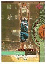 GRANT HILL INSERT 1999-00 UPPER DECK ENCORE JAMBOREE J13 DETROIT PISTONS HOF MVP