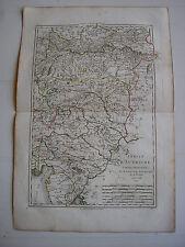 CARTE d'AUTRICHE orientale par BONNE carte ancienne 1787 trieste salzburg muhl52