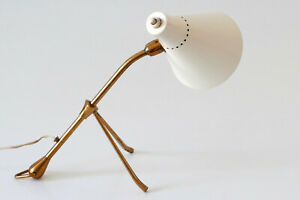Rare MID CENTURY Articulated TABLE or WALL LAMP by GIUSEPPE OSTUNI for OLUCE