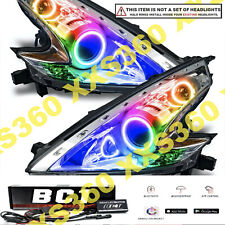 ORACLE Headlight HALO Dual RING KIT for Nissan 370Z 09-17 LED ColorSHIFT BC1