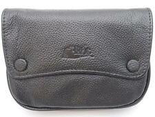 Mr. Brog Pipe Tobacco Leather Pouch - Authentic Full Grade Cow Leather - Black