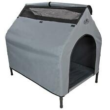 2NDS Elevated Fabric Dog Kennel Bed Pet Camping Waterproof Portable XL 7784